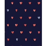 Mini Hearts Printed Backdrop
