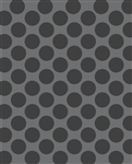 Dark Gray Polka Dot Printed Backdrop