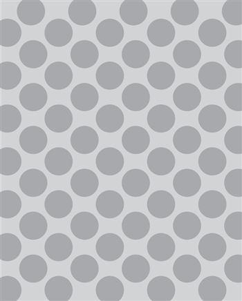Light Gray Polka Dot Printed Backdrop