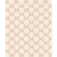 Cream Polka Dot Printed Backdrop