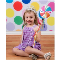 Multi-Colored Polka Dot Printed Backdrop
