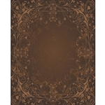 Brown Antique Vine Printed Backdrop