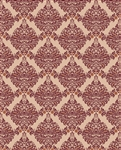 Brown & Maroon Damask Printed Backdrop