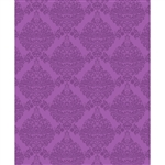 Tonal Fuchsia Damask Printed Backdrop
