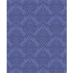 Tonal Purple Damask Printed Backdrop