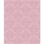 Tonal Pink Damask Printed Backdrop