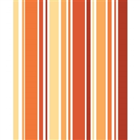 Fire Red & Orange Striped Printed Backdrop