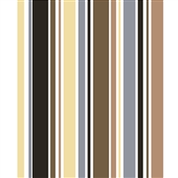 Shades of Brown Striped Printed Backdrop
