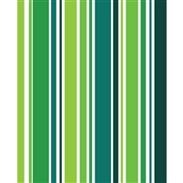Rainforest Green Striped Printed Backdrop