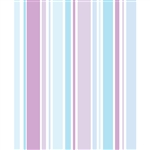 Light Purple & Blue Striped Printed Backdrop