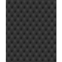Black Tufted Printed Backdrop - Vinyl - 5ft (w) x 9ft (h)