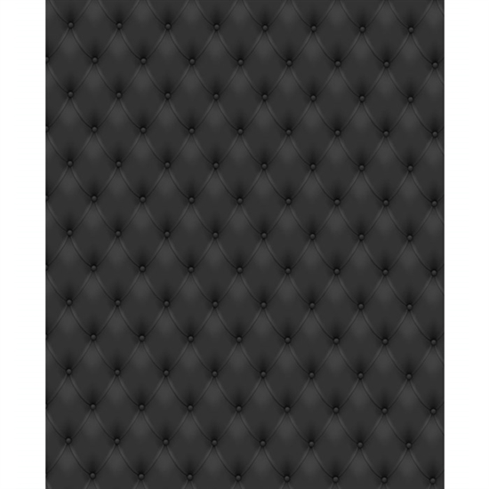 Black Tufted Printed Backdrop Backdrop Express