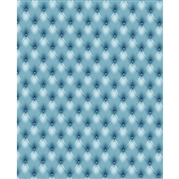 Steel Blue Tufted Printed Backdrop