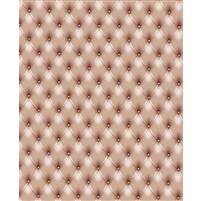 Tan Tufted Printed Backdrop