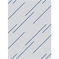 Minimal Blue Stripes Printed Backdrop