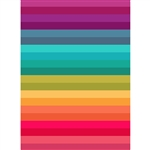 Rainbow Block Stripes Printed Backdrop