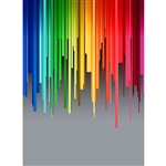 Digital Rainbow Printed Backdrop