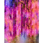 Spring in Bloom Abstract Printed Backdrop