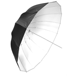 "65"" White/Black Deep Umbrella"