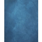 Deep Blue Printed Canvas