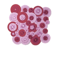 Berry and Wine Pinwheels Printed Backdrop