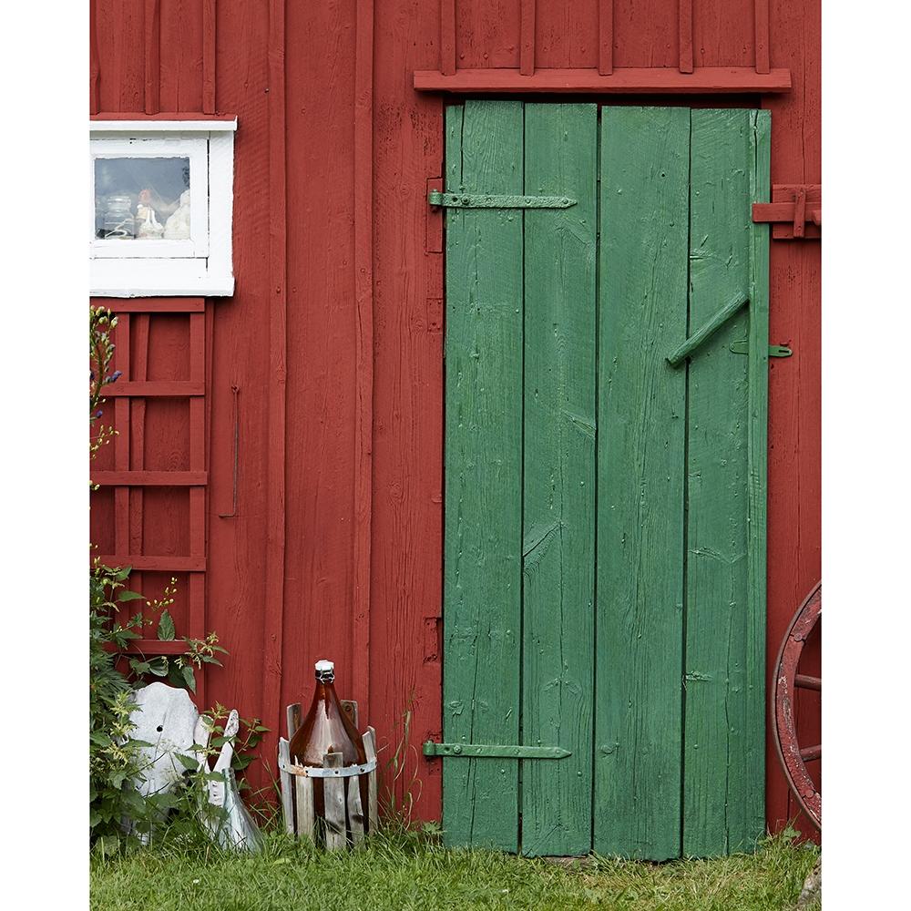Incroyable Old Barn Door Printed Backdrop