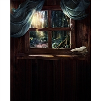 Storybook Window Printed Backdrop