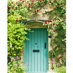 English Cottage Printed Backdrop