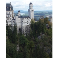 Neuschwanstein Castle Scenic Backdrop