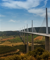 Millau Bridge Scenic Backdrop