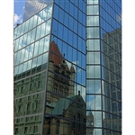 Boston Building Reflection Scenic Backdrop