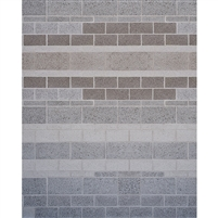 Concrete Brick Wall Printed Backdrop
