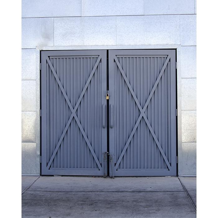 Steel Barn Doors Printed Backdrop Backdrop Express