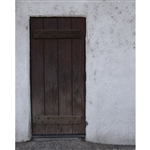 Wooden Door Printed Backdrop