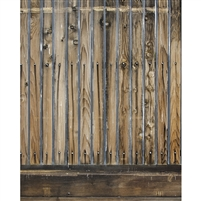 Wooden Slats Printed Backdrop - Vinyl - 5ft (w) x 9ft (h)