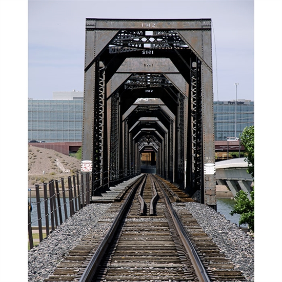 Train Track Printed Backdrop Backdrop Express