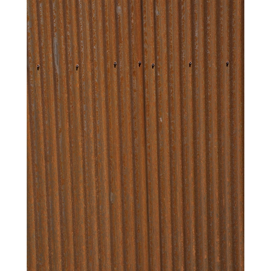Rusted Steel Siding Plate Printed Backdrop Backdrop Express