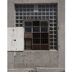Industrial Window Printed Backdrop