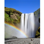 Rainbow Waterfall Printed Backdrop