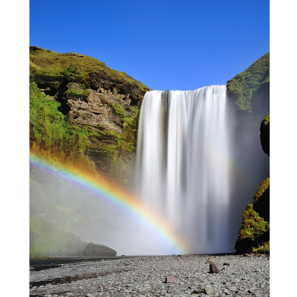 Rainbow Waterfall Printed Backdrop Backdrop Express