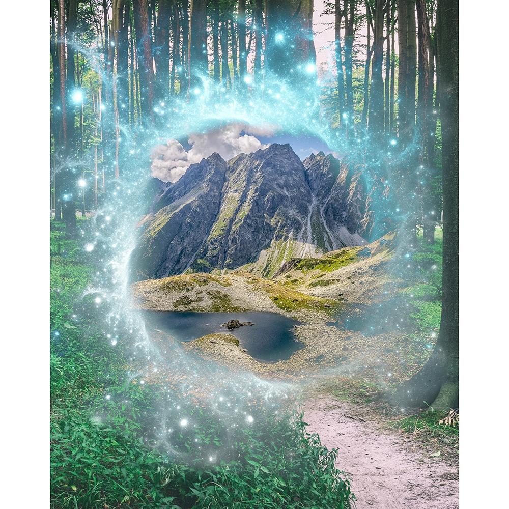 Magical Portal Printed Backdrop Backdrop Express