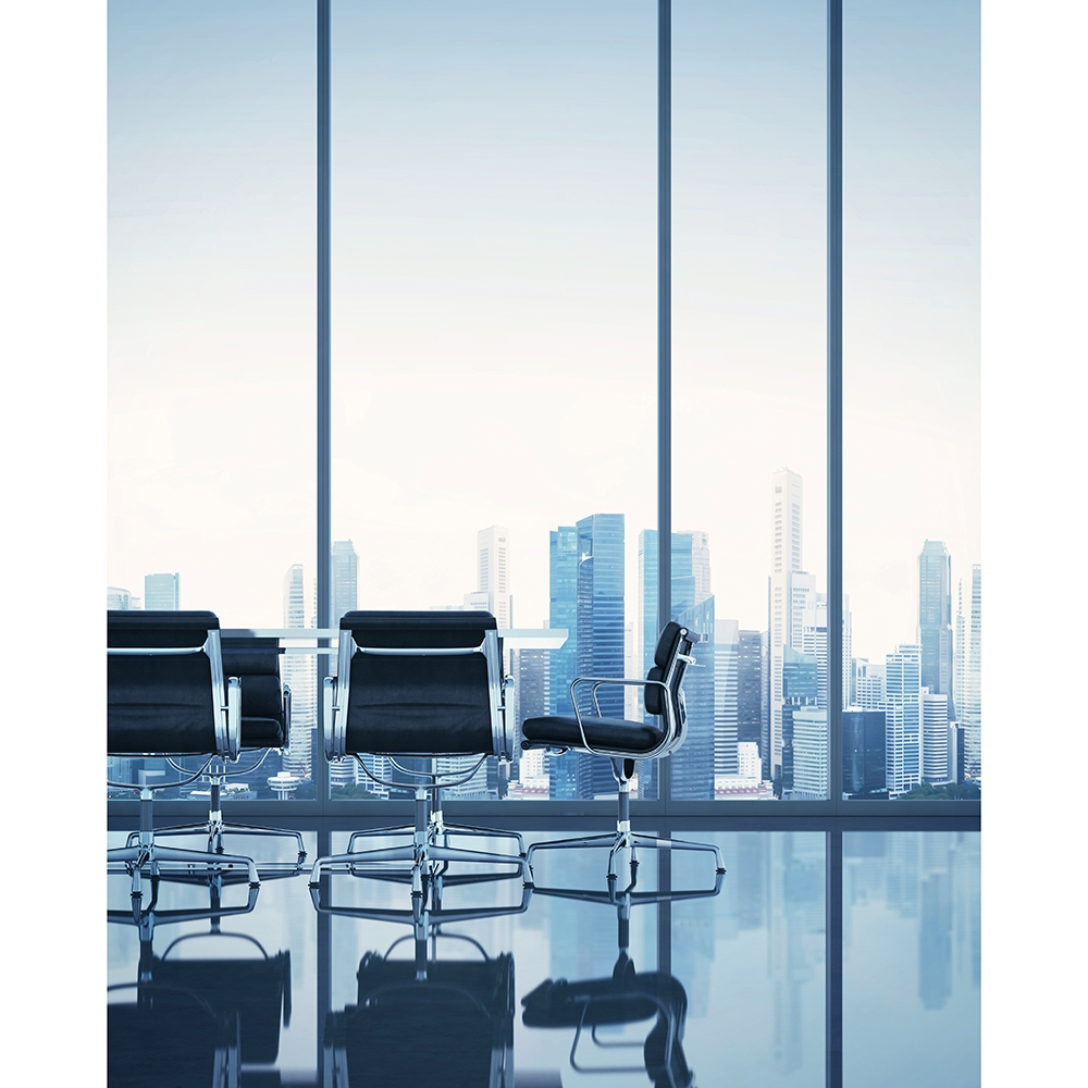 office backdrop. City Conference Room Printed Backdrop Office