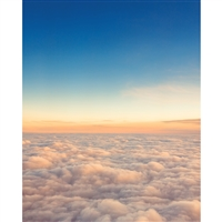 Above the Clouds Printed Backdrop