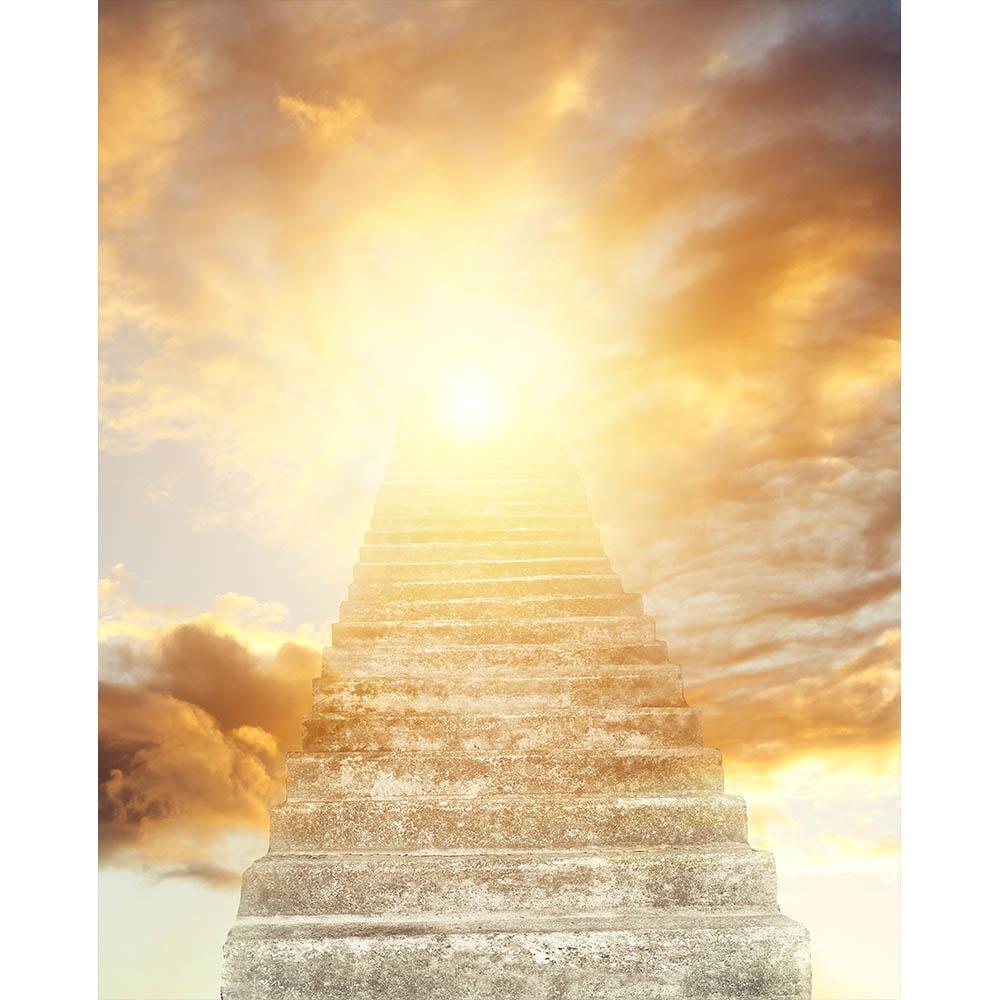 Stairway To Heaven Printed Backdrop