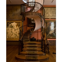 Winding Staircase Printed Backdrop