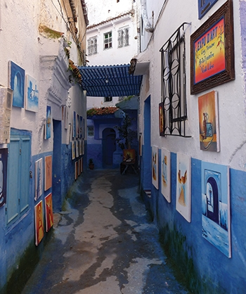 """Alleys of Morocco"" Scenic Backdrop"