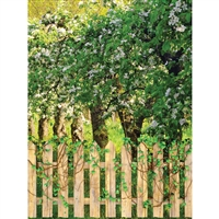 Spring Gate Printed Backdrop