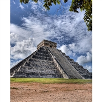 Chichen Itza Scenic Backdrop (View 2)