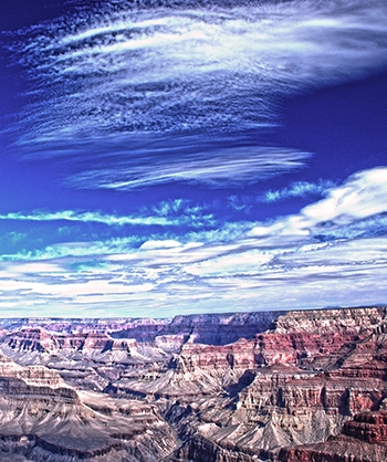Grand Canyon Scenic Printed Backdrop (View 1)