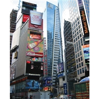 Times Square Scenic Printed Backdrop